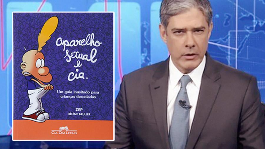 Globonews desmente kit gay do Bolsonaro apresentado no JN