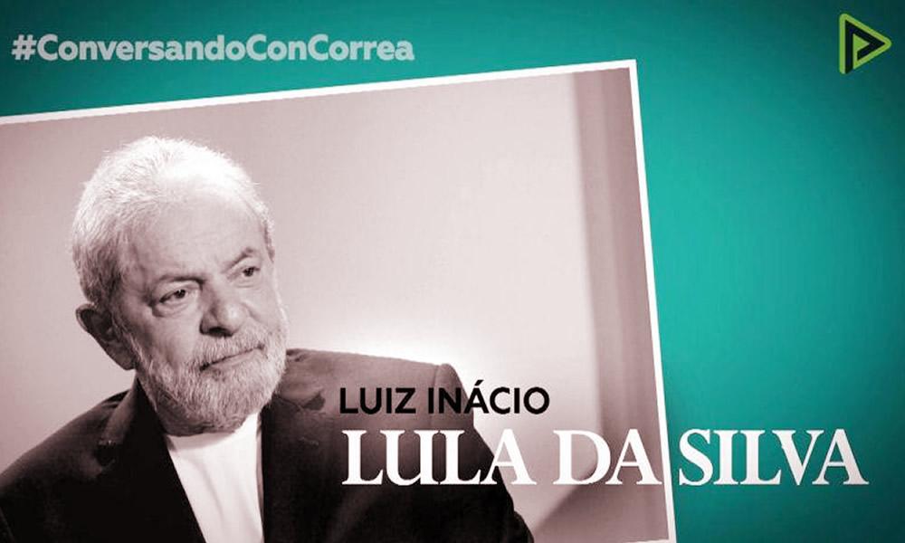 Entrevista: Rafael Correa conversa com Lula sobre perseguição, Lawfare, ditadura e golpe que vive o Brasil