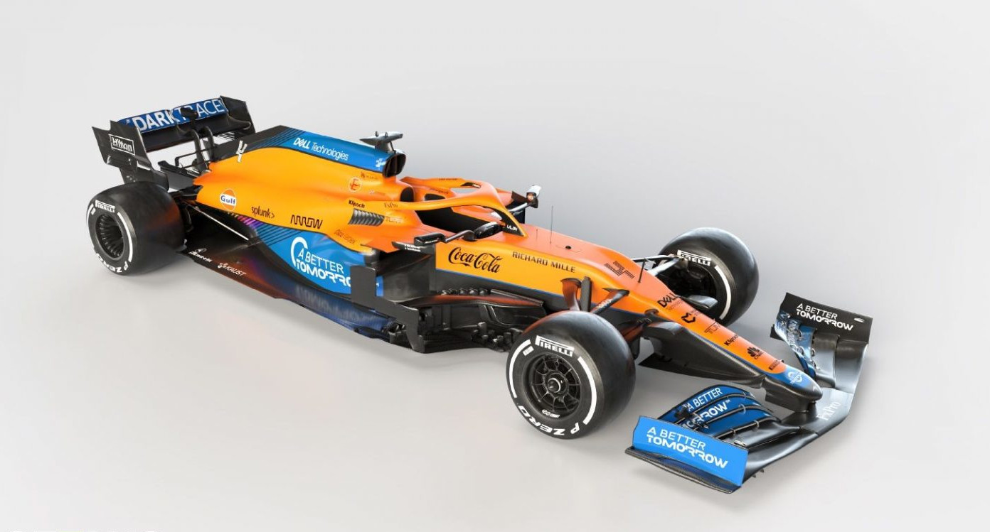 McLaren launches MCL35M with Mercedes engine and aerodynamic changes